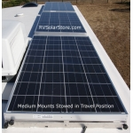 RVSC Medium Dual Tilt RV Solar Panel Mounts