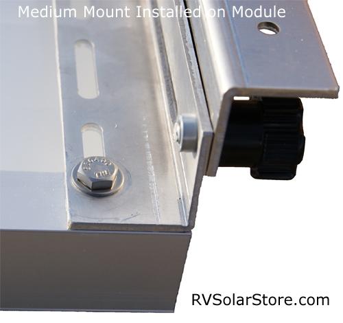 Rvsc Medium Dual Tilt Rv Solar Panel Mounts