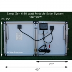 80 Watt Portable RV Solar System
