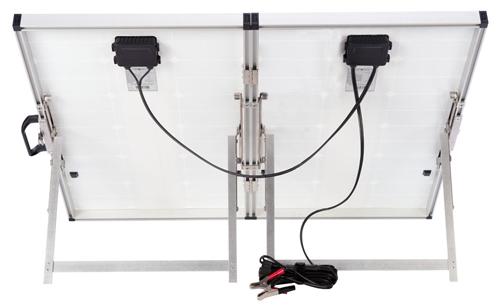 140 Watt Unregulated Portable Rv Solar System