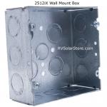 Blue Sky Solar Boost 2512iX-HV 25 amp MPPT with Wall Mount Box