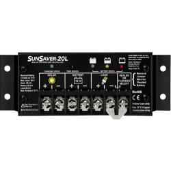 SunSaver 20 Amp PWM Solar Controller LVD