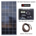 140 Watt RV Solar Maintainer