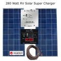 280 Watt RV Solar Super-Charger - SolarTech Panels