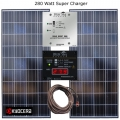 280 Watt RV Solar Super-Charger