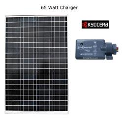 65 Watt Camper Solar Charger