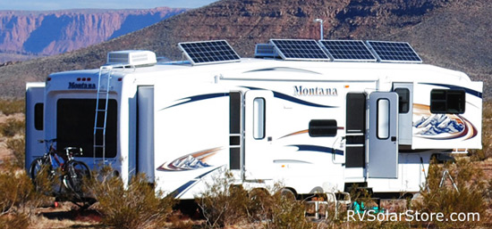 Installed Rv Solar Electric Systems